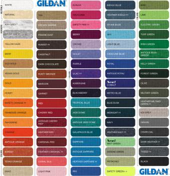 Tee Shirt  Colors