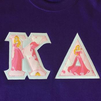 Custom Aurora Stitched Letter Shirt