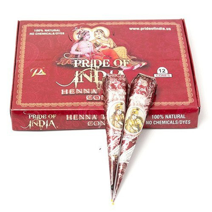 Pride of India Mehndi Cones