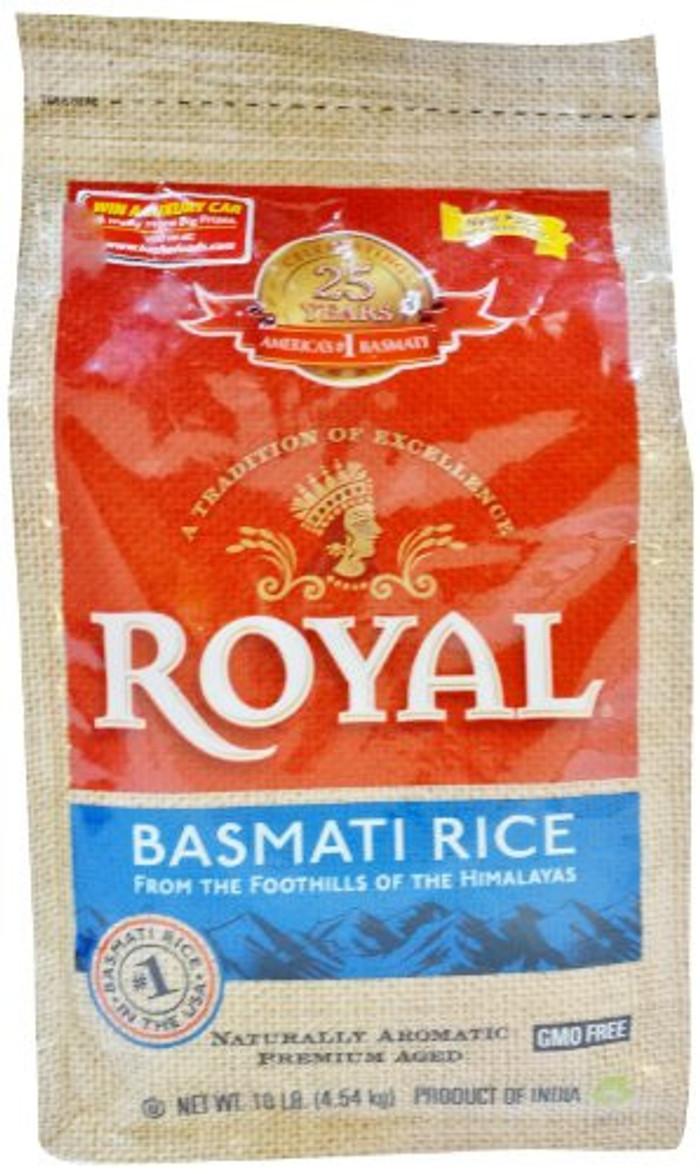 Royale Basmati - 10 Lbs