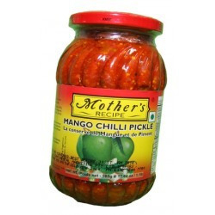 MOTHER'S MANGO CHILLI PICKLE - 500 GM