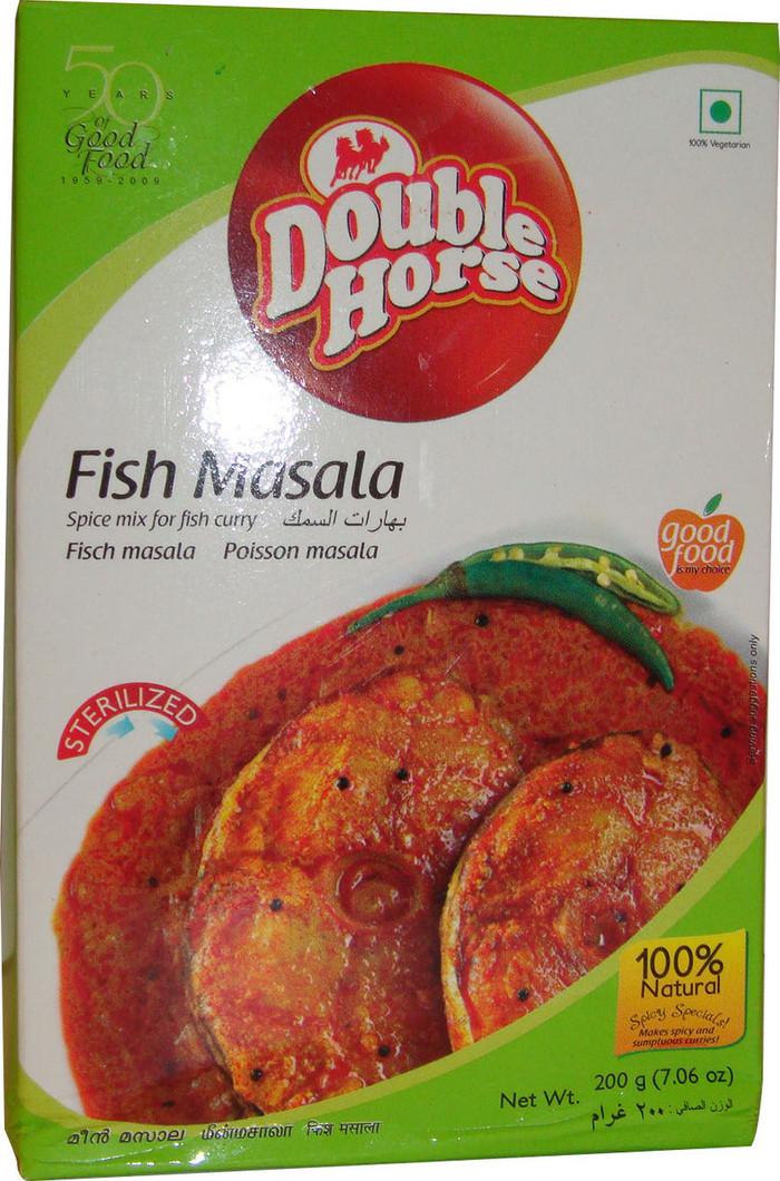 Double horse Fish Masala 200g