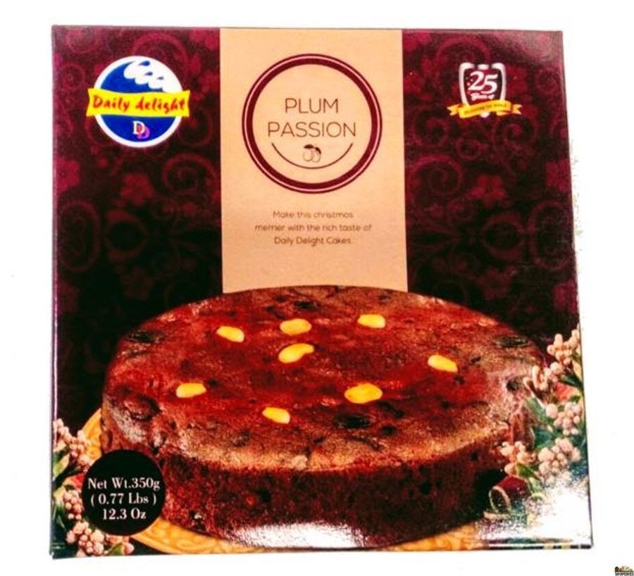DAILY DELIGHT PLUM PASSION CAKE 700 GMS