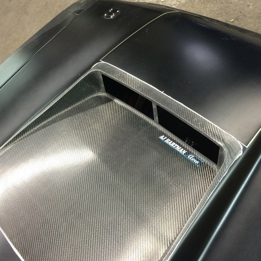 Hood Vent for Racing Applications