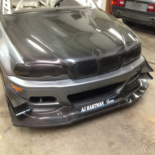 BMW E46 Carbon Fiber Hood Replacement