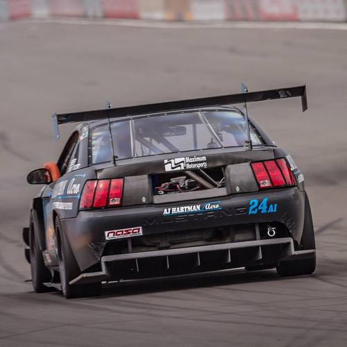 """Mustang SN95 Racing Wing, 14"""" Chord"""
