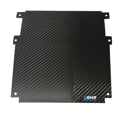 Mustang S197 Carbon Dash Panel Filler, Blank