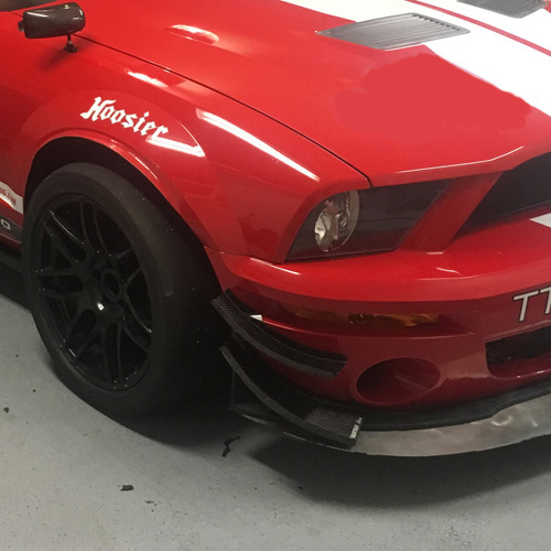 Mustang GT500 Canards/Dive Planes for your Race Car