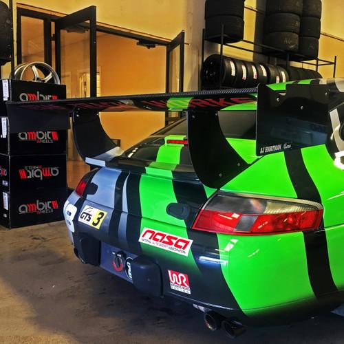 "Porsche 996/911 Racing Wing, 14"" Chord"