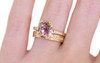 MAROA Ring in Yellow Gold with 1.07 Carat Rustic Cognac Diamond