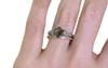 1.05 Carat Cocoa Diamond Ring in Yellow Gold