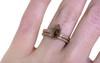 2.03 Carat Rustic Cognac Diamond Ring in Rose Gold
