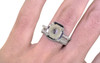 AIRA Ring in White Gold with 1.30 Light Creamy Gray Diamond