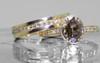 2.17 Carat Cocoa Diamond in Yellow Gold