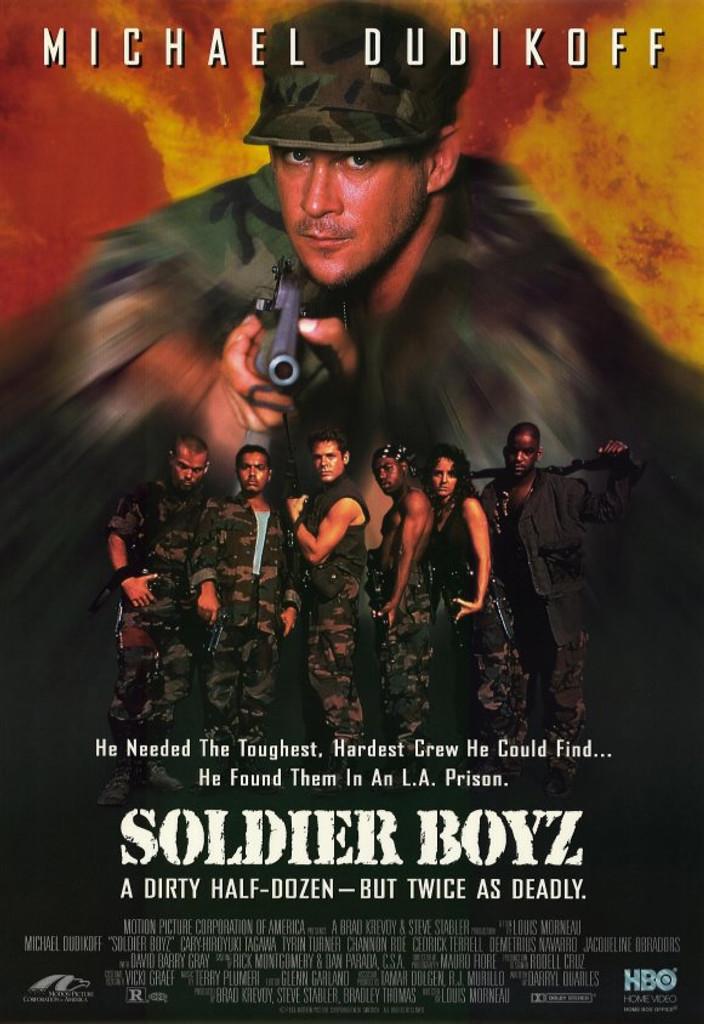 Soldier Boyz DVD