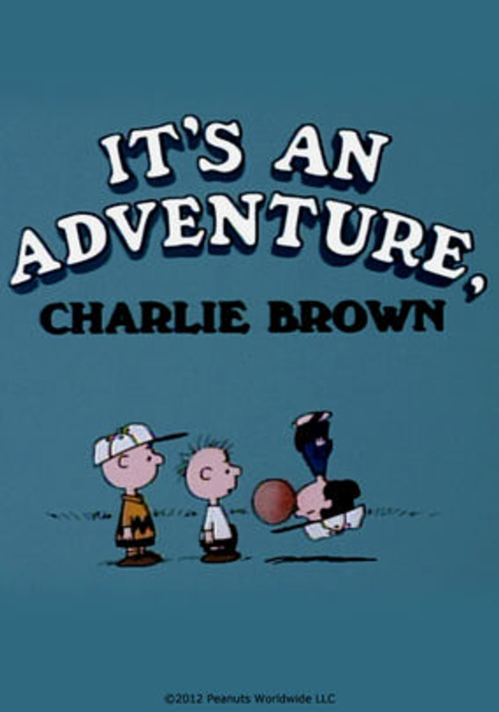 It's an Adventure Charlie Brown on DVD