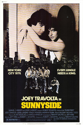 """Like the classic gang movie """"The Warriors""""? Well you're sure to enjoy this one with John Travolta's older brother Joey. Sunnyside DVD from 1978. Rare and out of print movie."""