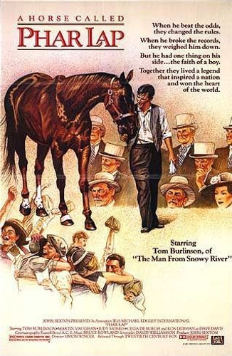phar lap dvd 1983 movie about Australia's best race horse