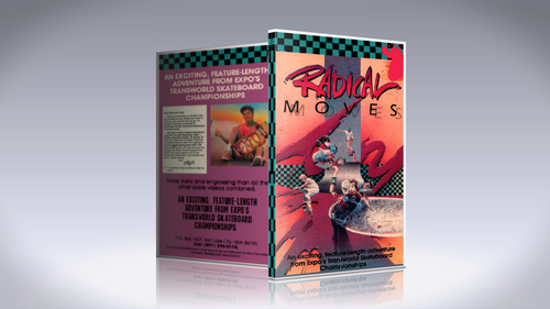 """""""Radical Moves"""" 1986 DVD"""