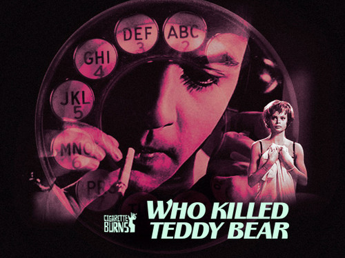 who killed teddy bear? DVD Sal Mineo 1965 cult classic and psychological thriller!