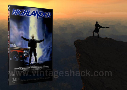 Highlander DVD (American Theatrical version) '85
