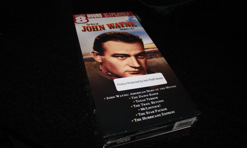 Winner of the John Wayne DVD Box set *April 2017 Giveaway