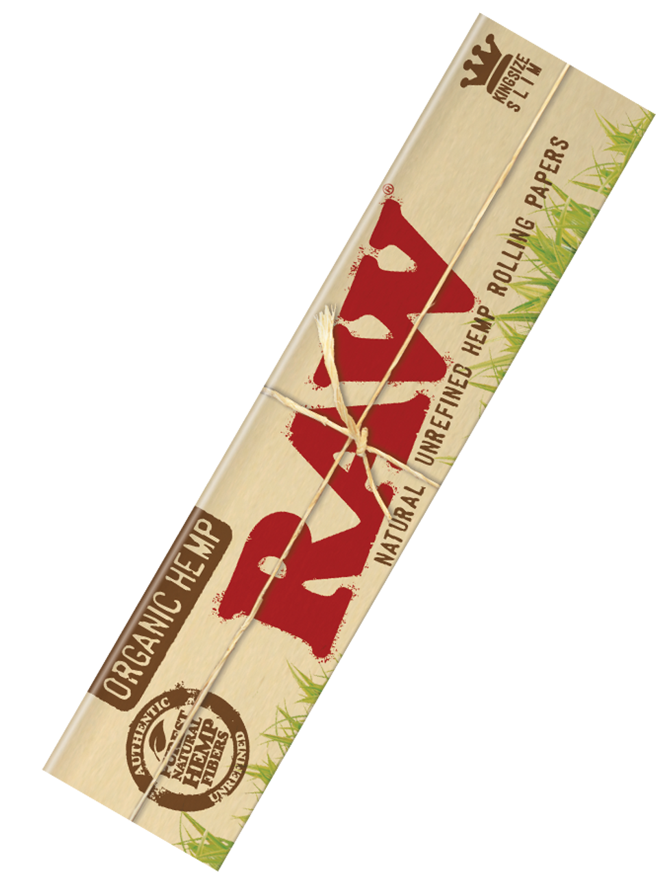 Raw Slim Organic Rolling Papers - King Size 50/box