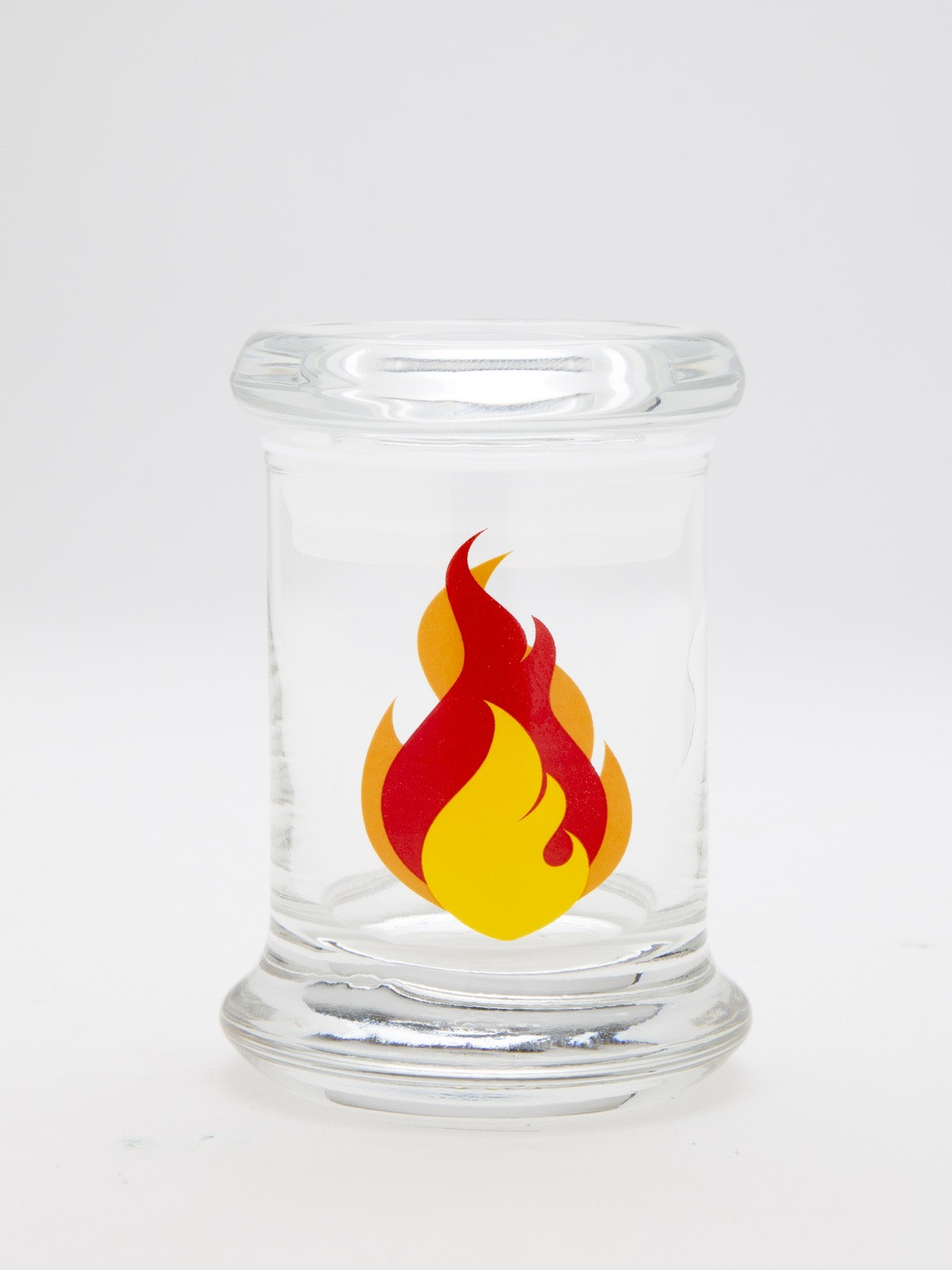 420 Science Pop Top Jar - Flame