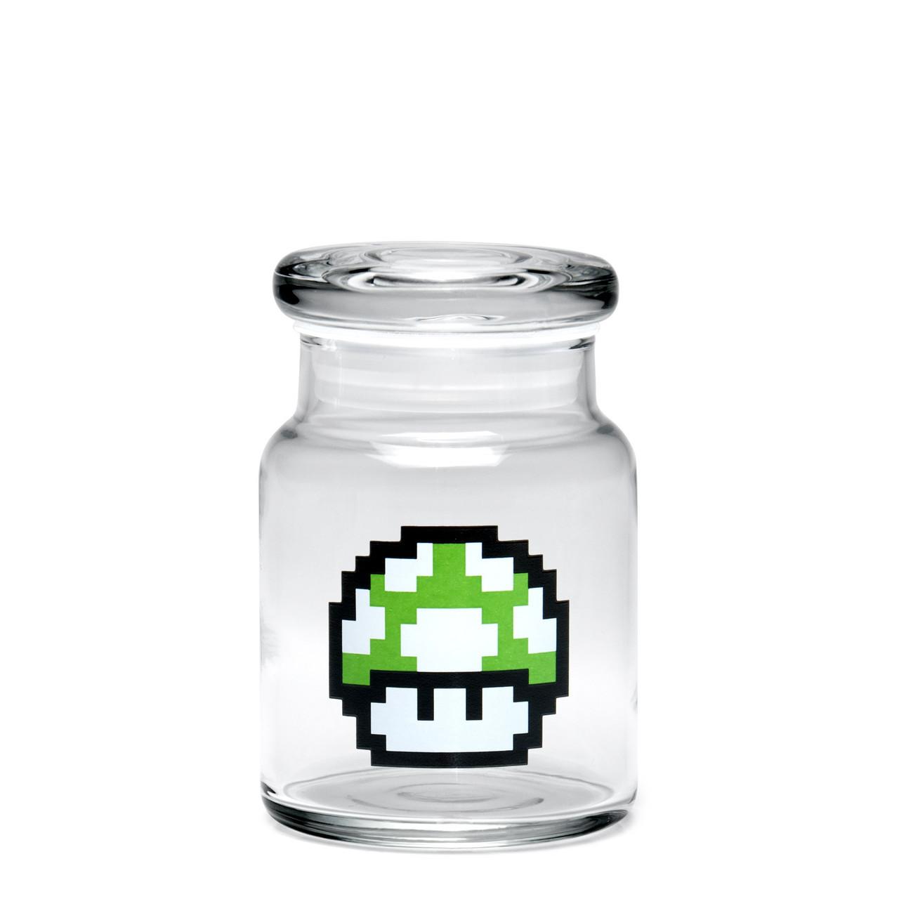 420 Science Small Pop-Top Jar - 1-Up Mushroom