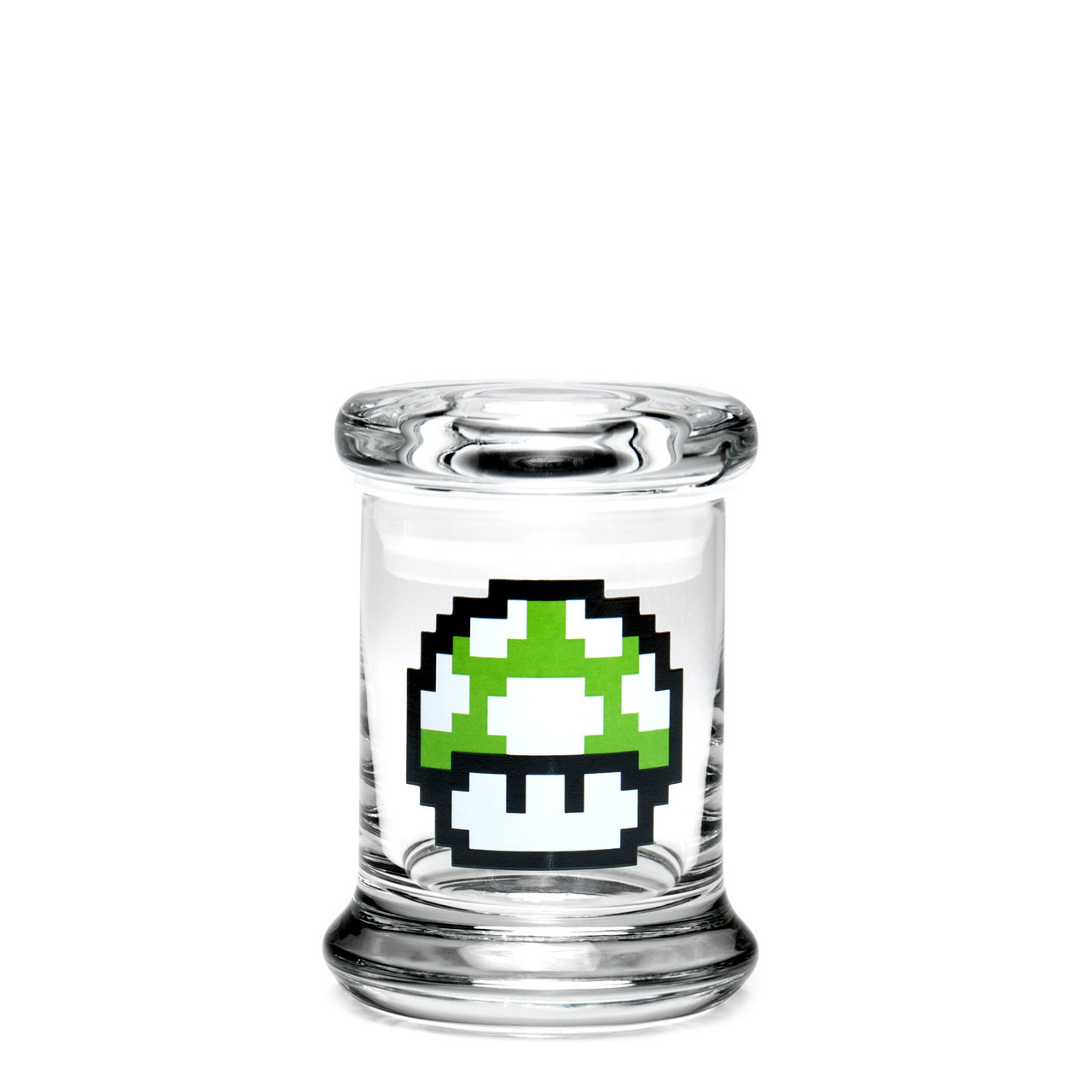 420 Science Extra Small Pop-Top Jar - 1-Up Mushroom