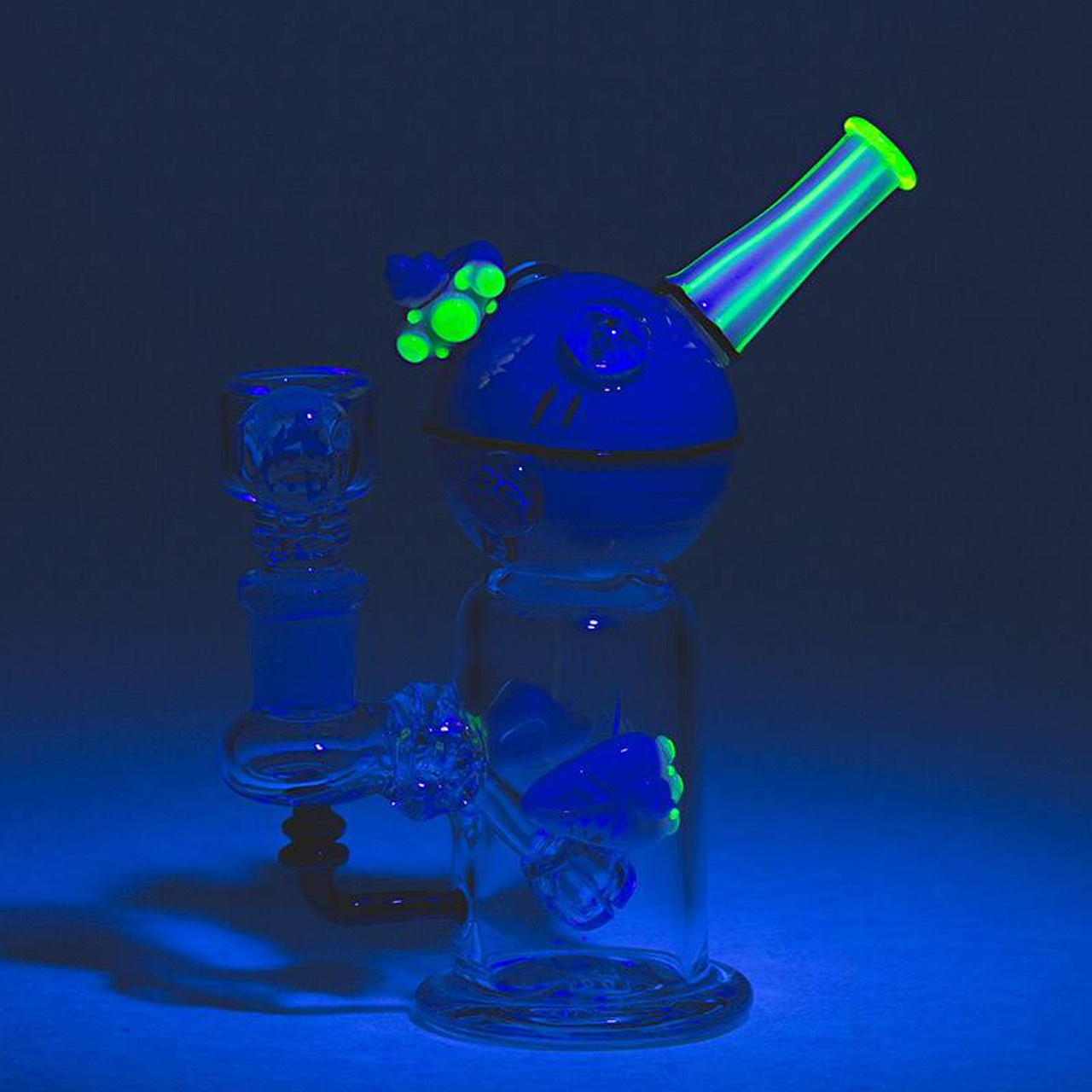 Empire Glassworks - Mini Rig - Illuminati Deathstar