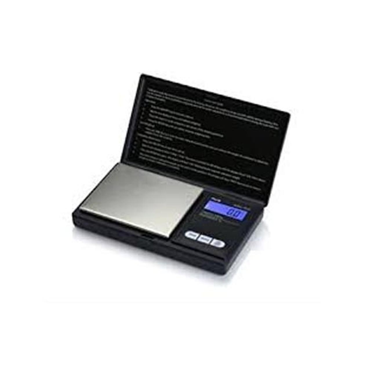 AWS Digital Scale AWS-1KG (1000g x 0.1g) Flip-Open Cover - Black