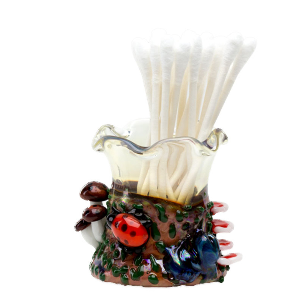Empire Glassworks - Q-Tip Holder - Bug's Life