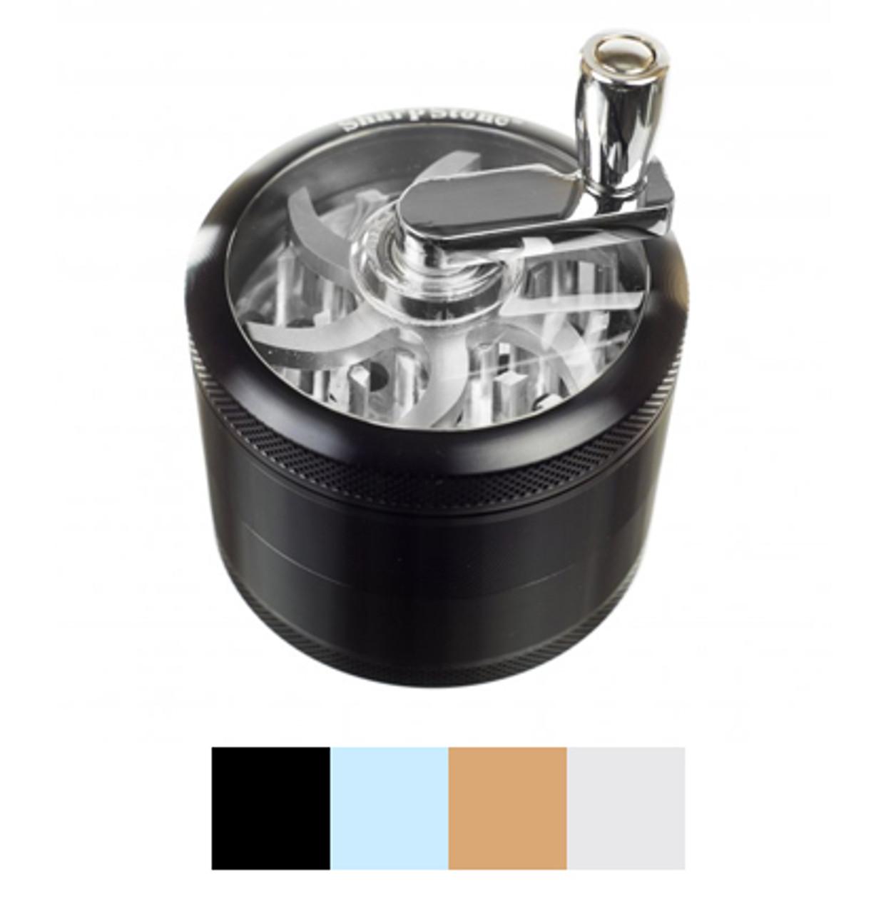 Sharpstone® 4 Piece Crank Top Grinder