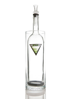"Grav Labs 13.5"" Gravitron Water Pipe - Clear"