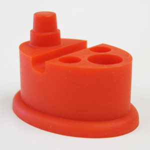NoGoo Silicone Stand - Red