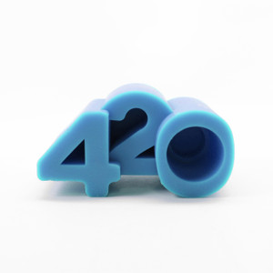 NoGoo Silicone Stand - 420 - Blue