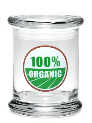 420 Science LG Pop Top Jar - 100% Organic