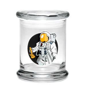 420 Science LG Pop Top Jar - Space Man