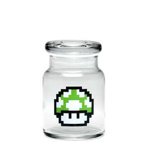 420 Science SM Pop-Top Jar - 1-Up Mushroom