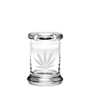 420 Science XS Pop-Top Jar - Silver Leaf