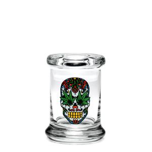 420 Science XS Pop-Top Jar - Skull