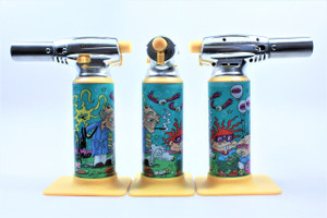 Errly Bird Torch Art - Peda Rugrats by Dunkees