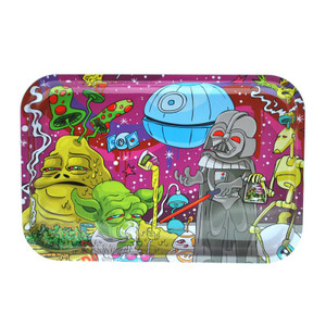 "Dunkees Rolling Tray 13"" x 9"" - Dab Wars"