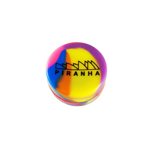 Piranha - Silicone Container - Assorted Colors (New Piranha Logo)