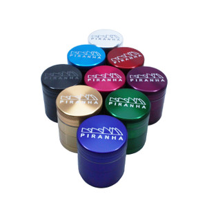 "Piranha Grinder 4pc 1.5"" Colors"
