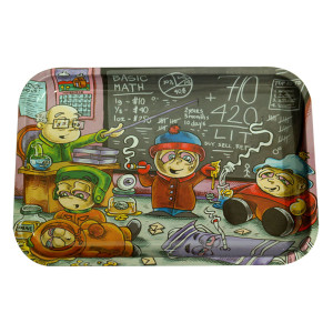 """Dunkees Rolling Tray 13"""" x 9"""" - Life Lessons (South Park)"""