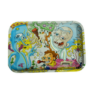 """Dunkees Rolling Tray 13"""" x 9"""" - Rick & Morty"""