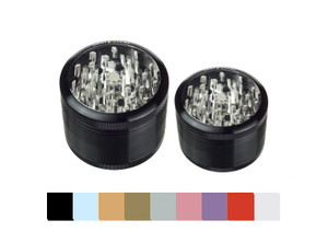 Sharpstone® 4 Piece Clear Top Grinder