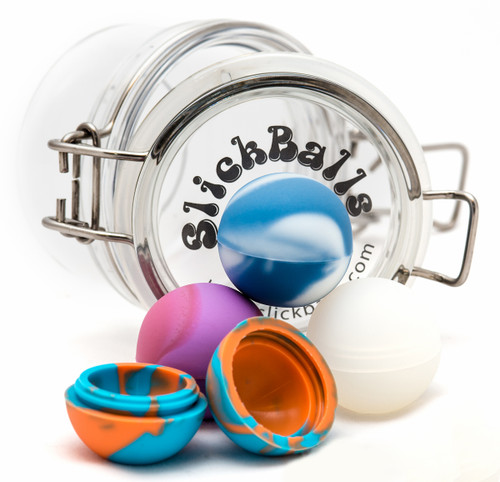 SALE! Oil Slick® Mini Slick Balls Non-Stick Concentrate - Classic Mix (4 Pack)